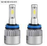 Linterna del coche de la viga LED de la MAZORCA de la luz S2 H8 H9 H10 H11 del coche del LED sola