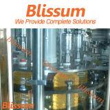 Machine de remplissage complète d'huile de bouteille de bouteille d'animal domestique automatique