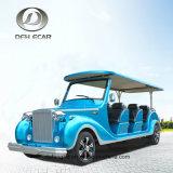 6 Sitzwerbung kundenspezifisches einfaches Fahrengolf-Karren-klassisches elektrisches Fahrzeug