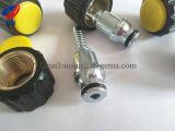 Dkf que ajusta la tuerca de cobre amarillo apropiada de tuberías de la tuerca de aluminio hidráulica de la instalación 20011 que ajusta la guarnición de manguito métrica del agua M20