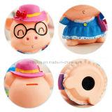 Förderndes Plastikmünzen-Geld-Einsparung-Kasten-Schwein-Spielzeug für Kinder