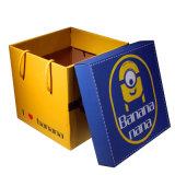 Коробки печатание складной покупкы цветастые, бумажная коробка пакета