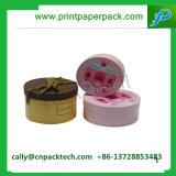 Runder Zylinder-Papierkasten mit Firmenzeichen-Drucken