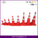 """36 """" cones contínuos da estrada do PVC da laranja"""