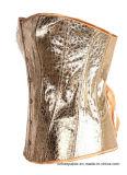 Frauen Steampunk schnüren sich Bustier Goldkorsett-Oberseite oben Wäsche