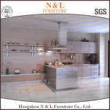 家具のステンレス鋼の食器棚の家具の外