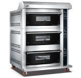 3 Plattformen 9 Tellersegmente spalteten Form-Glastür fortgeschrittenen elektrischen Spray-Ofen mit Digital-Controller für Geschäft auf (WFC-309DHAFE)