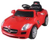 Benz SLS genehmigte Fahrt auf Auto mit Farbanstrich
