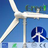 горизонтальная система генератора ветра оси 1kw с регулятором и инвертором