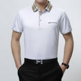 Het Katoenen van 100% Overhemd zeer Van uitstekende kwaliteit van het Polo met het Embleem van het Borduurwerk
