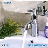 Taraud en laiton d'eau du robinet de robinet de lavabo de traitement simple BRITANNIQUE de type