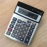 12 chiffres conjuguent des calculatrices de bureau de pouvoir avec la couverture en aluminium (CA1206A)