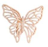 Повелительницы высокого польского синтетического диаманта горячие продавая Wedding вспомогательное кольцо стерлингового серебра (R10536)
