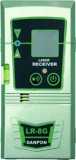 Vigas recargables de la herramienta eléctrica las cinco ponen verde la herramienta del nivel del laser