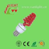 다채로운 나선 CFL, 에너지 절약 램프를 점화하는 색깔