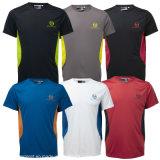 Kundenspezifisches Großhandelst-Shirt der Farben-2016 und des Firmenzeichens (A005)
