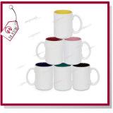 Sublimation 15oz innerhalb des Farben-keramischen Bechers für Förderung