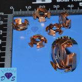 Personalizado cobre amarillo de acero de hojas automático eléctrico de piezas de metal estampado