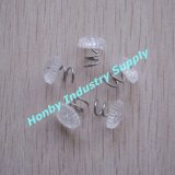 Uphosteryの家具(P160111E)のための明確なプラスチックヘッドねじれピン