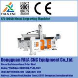 Máquina de grabado de la máquina del ranurador del CNC del metal Xfl-5040 que talla la máquina