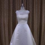 Изощренное традиционное платье венчания сатинировки