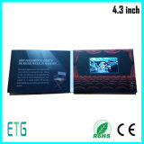 "4.3 "" видео- Business Card с LCD Screen для Advertizing"