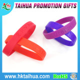 2016 Sale chaud Personalized Printed Silicone Bracelet pour Promotional Gift