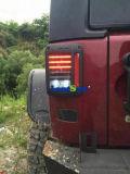 Fanale posteriore posteriore dell'altoparlante LED di Jw per il Wrangler Jk della jeep