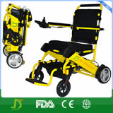 Alluminio leggero che profilatura la sedia a rotelle di energia elettrica