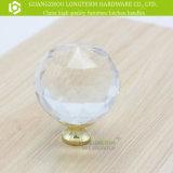Ronda de zinc Claro Perilla cristalina de los muebles