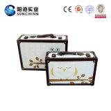 Изготовленный на заказ чувствительный чемодан кожи Faux (SCSC00016)