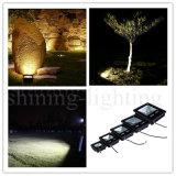 超細いIP67黒い庭ライト外部の屋外の照明LEDフラッドライト100Wランプ