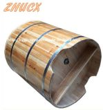 Hermosa bañera de madera redonda Baño Aparatos Bañera de alta calidad