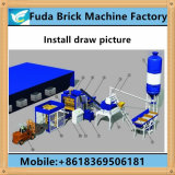 中国の熱いSale Hydraulic Color Paver Brick Machine