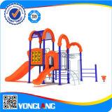 Da estrutura ao ar livre dos jogos do campo de jogos do divertimento dos miúdos equipamento ao ar livre do campo de jogos (YL55485)