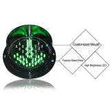 Módulo personalizado do sinal do diodo emissor de luz da seta 125mm do verde da cruz vermelha