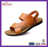 Chaussures supérieures en cuir d'hommes