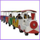Tren sin rieles 2015 del juguete eléctrico del parque de atracciones de Fwulong para los cabritos y los adultos (FLDT)