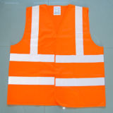 Alto Visibility Reflective Waistcoat per Outdoor Safety Working