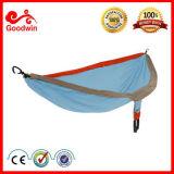 Vente en gros accrochante extérieure de lit de tissu léger portatif de parachute témoin libre