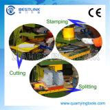 Het hydraulische Verdelende Snijden van de Steen van het Graniet en Stempelmachine