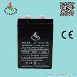 батарея 6V 4.5ah перезаряжаемые свинцовокислотная для электронного маштаба