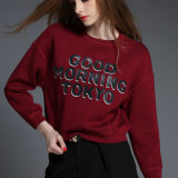 OEM Fashion Printed Good Quality Europe Style Lady Hoody