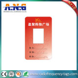 Cartão de sociedade de papel de RFID com microplaqueta