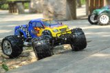 1: 8 Scale 2.4G 4WD Gas RC Car com 12cxp