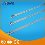 Qualitäts-Strichleiter-Typ Edelstahl-Kabel-Binden-Multi Verriegelungs-Typ