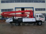De concrete Vrachtwagen Sn5216thb 21 van de Pomp van de Boom