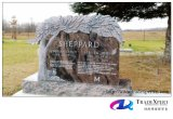 Памятник/надгробная плита типа гранита природы европейские с рукой выдалбливали