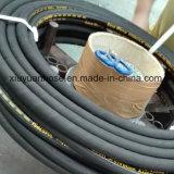 Mangueira de borracha hidráulica flexível do petróleo de alta pressão espiral com 902-4s
