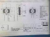 Calefator elétrico calefator de ventilador protegido do motor de Pólo